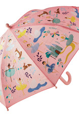 Floss & Rock Colour Change Umbrella - Enchanted Pink