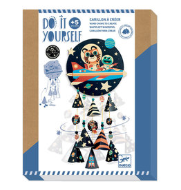 Djeco Djeco - Do It Yourself Wind Chime Space