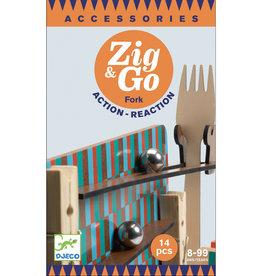 Djeco Djeco - Zig & Go Fork Set 14 pce