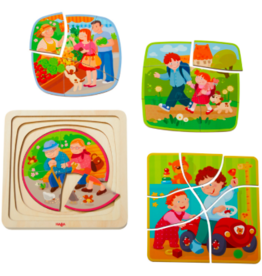 Haba HABA - Four Layer Puzzle