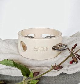 Jaclyn & Matisse Jaclyn & Matisse - Wooden Tamborine Small