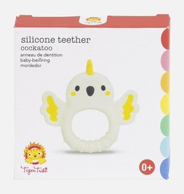 Tiger Tribe Tiger Tribe - Silicone Teether Cockatoo