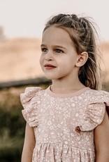 Aster & Oak Aster & Oak - Ditzy Floral Ruffle Dress