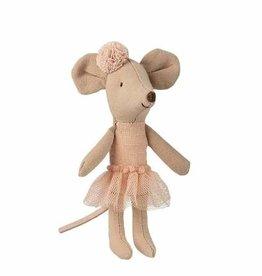 Maileg Maileg - Ballerina Mouse Little Sister With Hairband