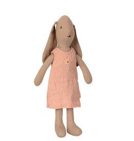 Maileg Maileg - Bunny Size 1 In Dress Rose