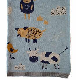 Indus Design Indus - Farmyard Blanket