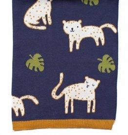 Indus Design Indus - Leopold Leopard Blanket