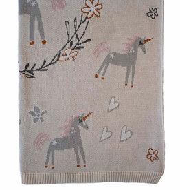 Indus Design Indus - Unicorn Blanket