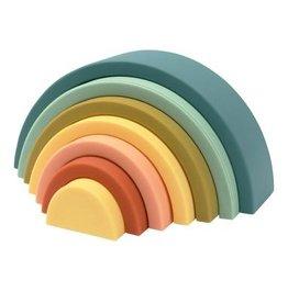 O B Designs O.B Designs - Silicone Rainbow Blueberry