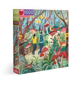 Eeboo Eeboo - Hike In The Woods Puzzle 1000pce