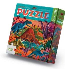 Crocodile Creek Crocodile Creek - Dazzling Dinosaur Puzzle 60pce