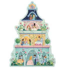 Djeco Djeco - The Princess Tower Giant Puzzle 36pce