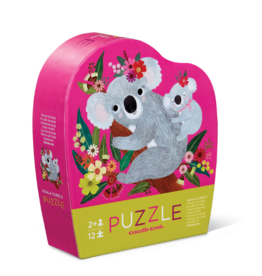 Crocodile Creek Crocodile Creek - Koala Cuddle Puzzle 12pce
