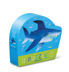 Crocodile Creek Crocodile Creek - Shark City Puzzle 12pce