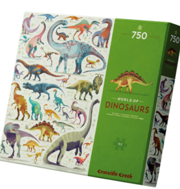 Crocodile Creek Crocodile  Creek - World Of Dinosaurs Puzzle 750pce