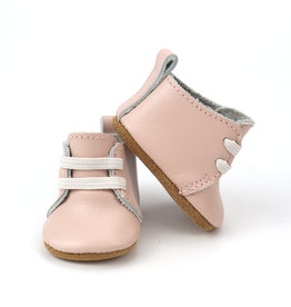 Burrow & Be Burrow & Be - Leather Doll Boots - Petal