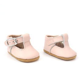 Burrow & Be Burrow & Be - Leather Doll T-Bar Shoes - Petal