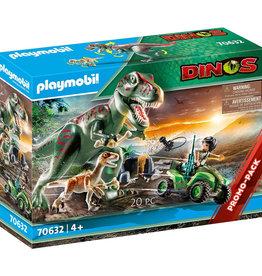 playmobil Playmobil - Explorer Quad with T-Rex 70632
