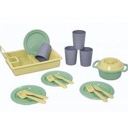 Plasto Plasto - 'I Am Green' Dinner Set 19 Pieces
