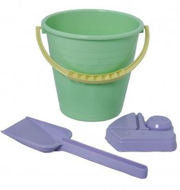 Plasto - 'I am Green' 3 Piece Bucket Set