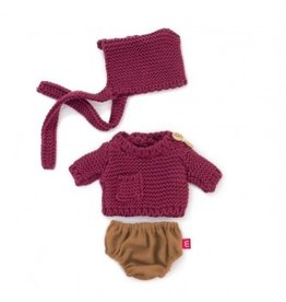 Miniland Miniland Dolls Outfit 21cm - Sand Jumper And Rompers