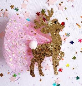 Lauren Hinkley Lauren Hinkley - Glitter Rudolph Hair Clip