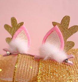 Lauren Hinkley Lauren Hinkley - Glitter Antler Hair Clips