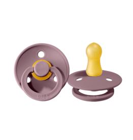 Bibs Bibs Round Pacifier - Heather Size 2 (2 Pack)