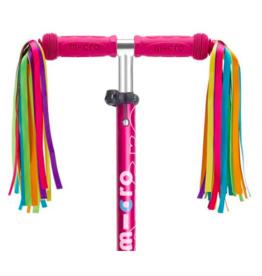 Micro Scooter Micro - Handle Bar Ribbons Neon
