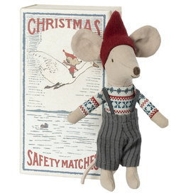 Maileg Maileg - Christmas Mouse In Box Big Brother (2021)