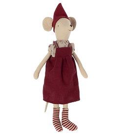 Maileg Maileg - Christmas Mouse Medium Girl