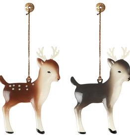 Maileg Maileg - Metal Ornament Bambi Assorted