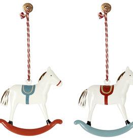 Maileg Maileg - Metal Ornament Rocking Horse Assorted