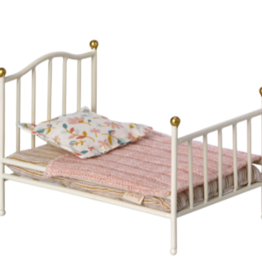 Maileg Maileg - Vintage Bed Mouse Off White