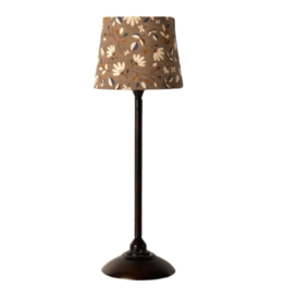 Maileg Maileg - Miniature Floor Lamp Anthracite