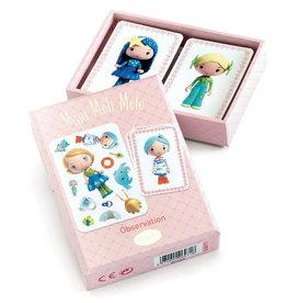 Djeco Djeco - Mini Méli-Mélo Tinyly Observation Card Game