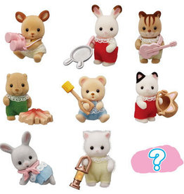 schleich Sylvanian Families - Baby Camping Series