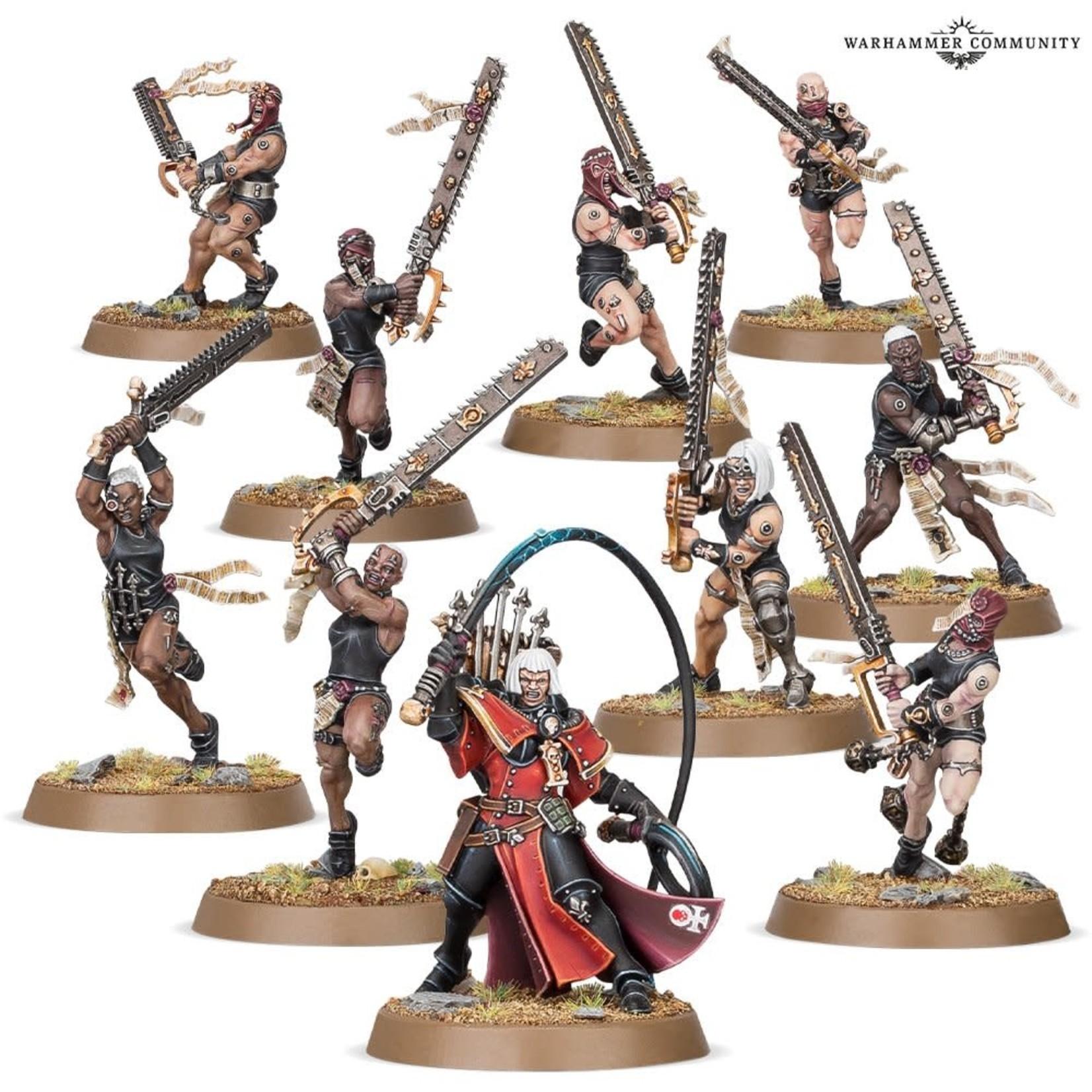 Games Workshop Adepta Sororitas Repentia Squad