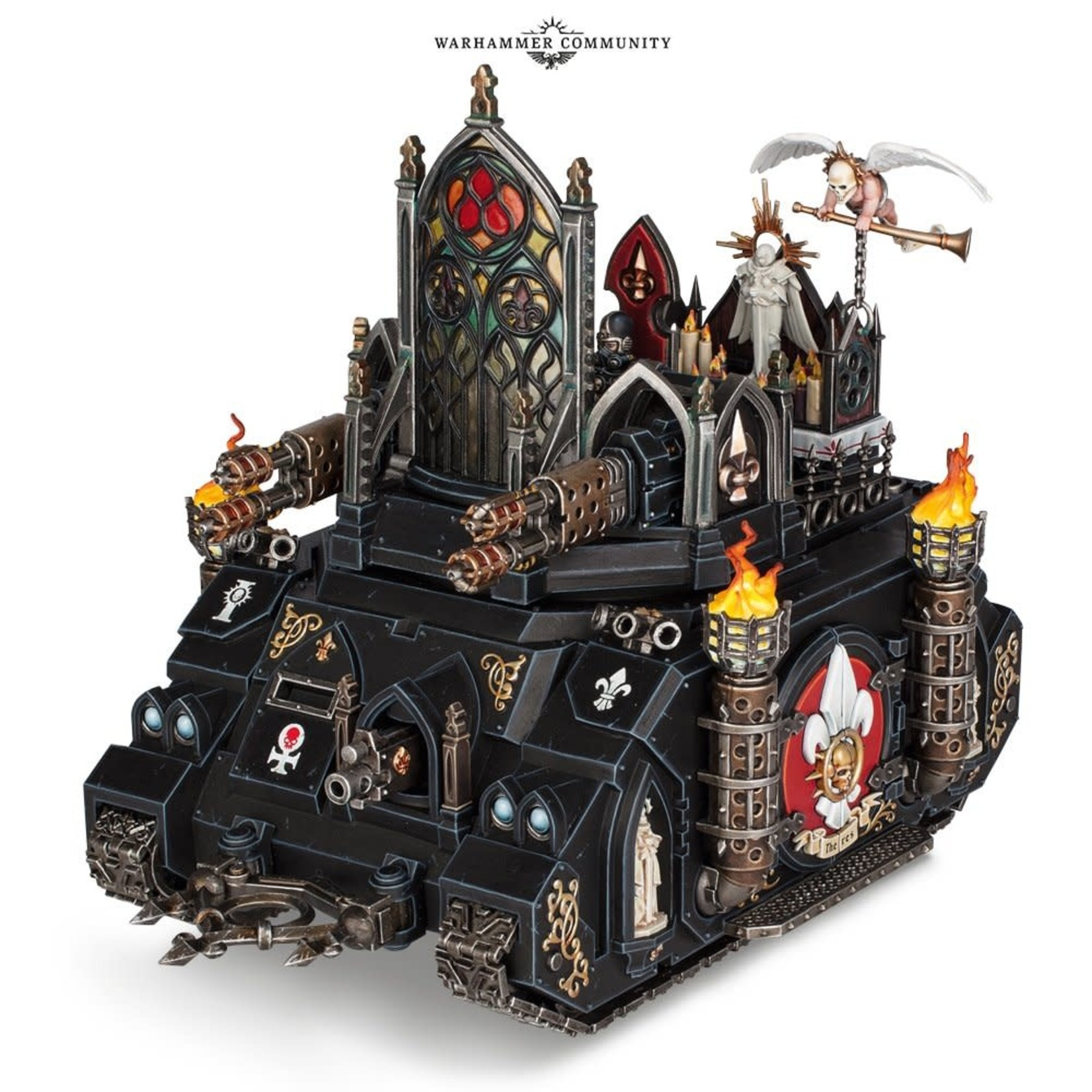 Games Workshop Adepta Sororitas Immolater