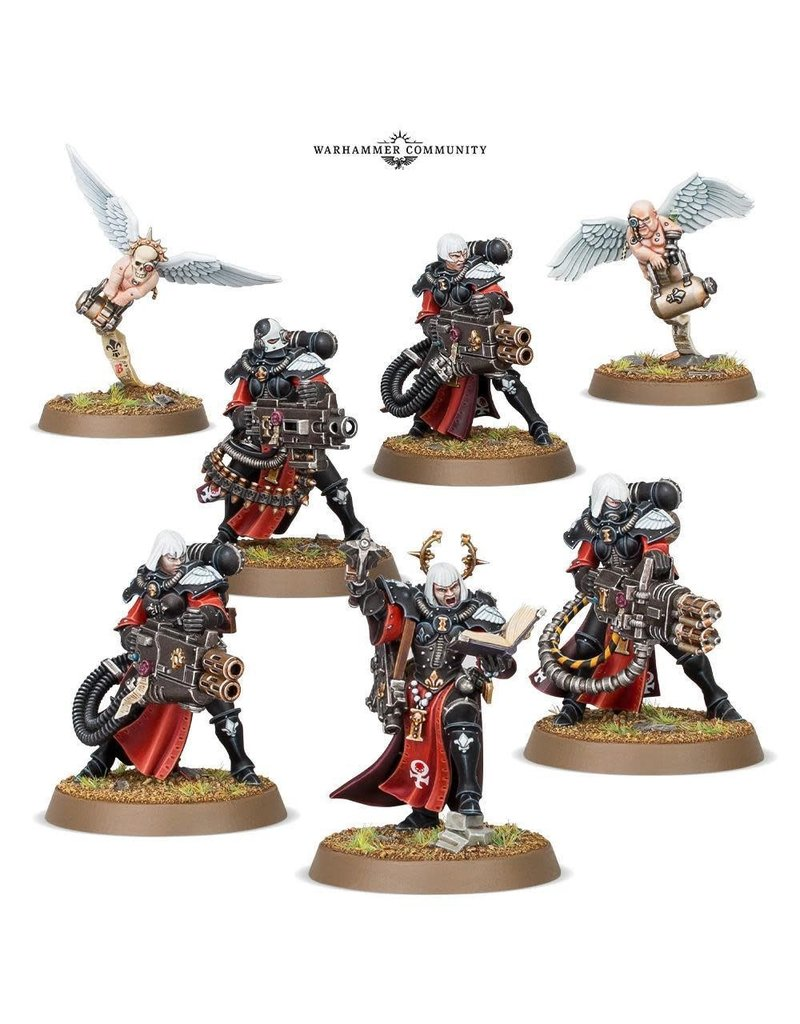 Games Workshop ADEPTA SORORITAS RETRIBUTOR SQUAD