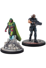 ASMODEE EDITIONS Marvel: Crisis Protocol - Vision and Winter Soldier Character Pack