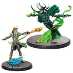 ASMODEE EDITIONS Marvel: Crisis Protocol - Loki and Hela Character Pack