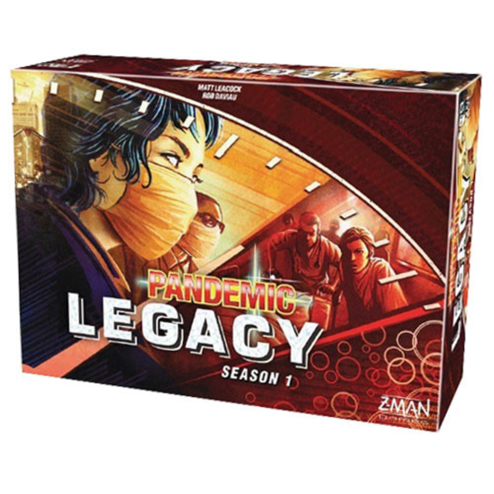 Pandemic: Legacy Season 1 - Red (stand alone)