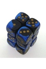 Gemini 3: 16mm D6 Black Blue Gold/Black (12)