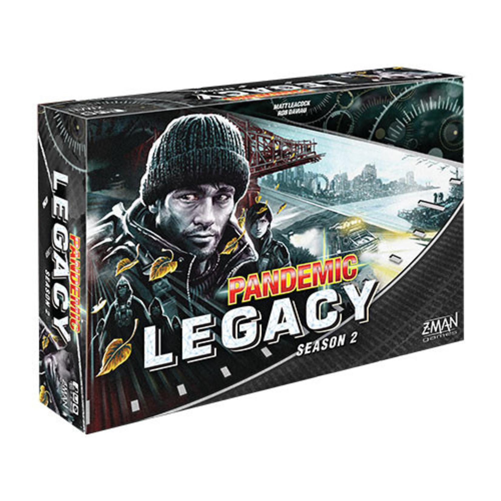 Pandemic: Legacy Season 2 - Black (stand alone)