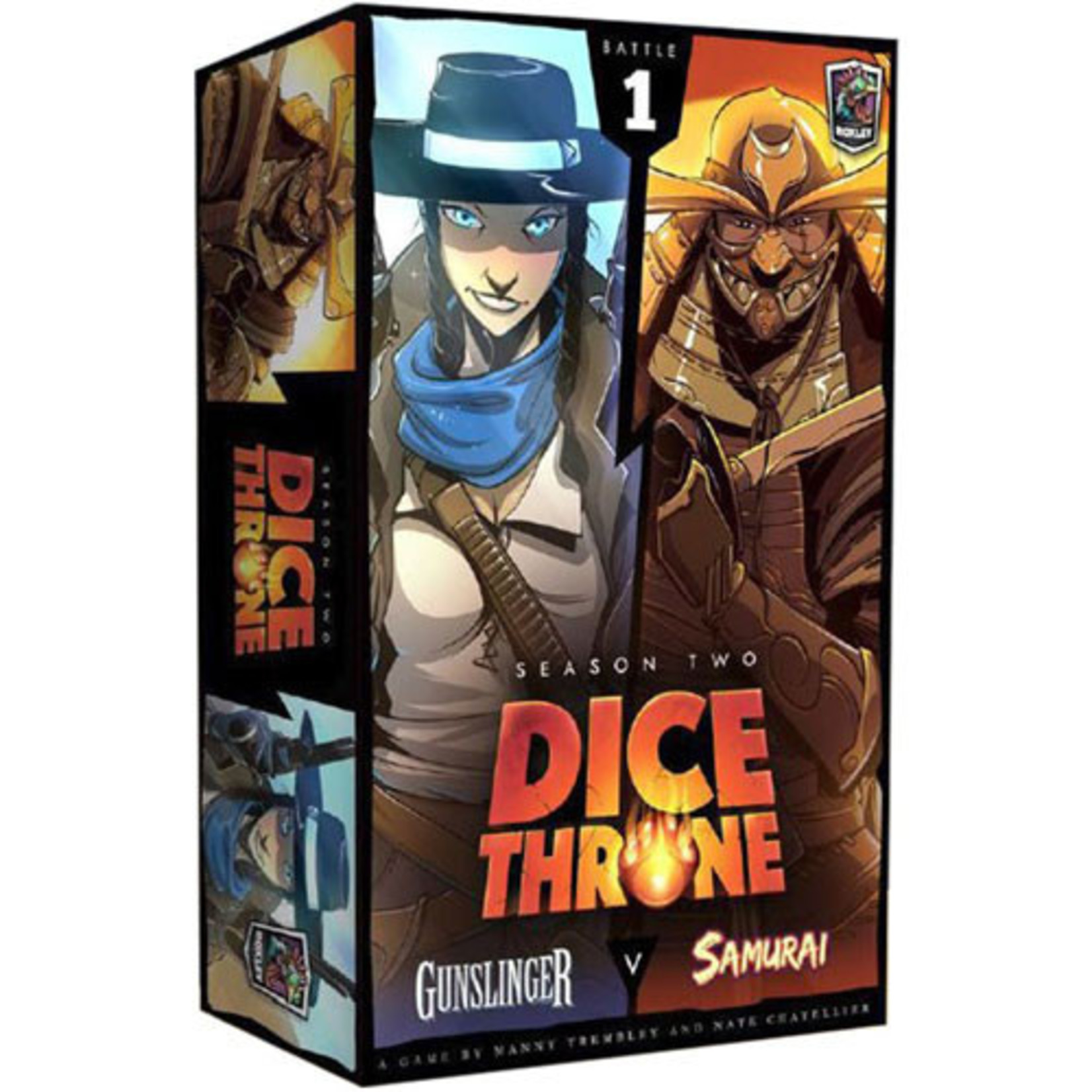 Dice Throne: Season 2 - Box 1 - Gunslinger vs Samurai