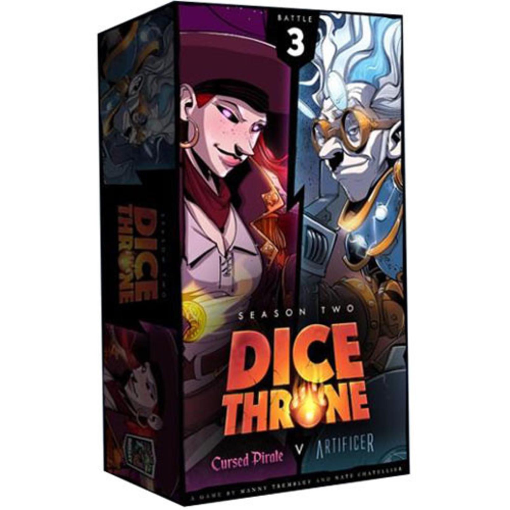 Dice Throne: Season 2 - Box 3 - Cursed Pirate vs Artificer