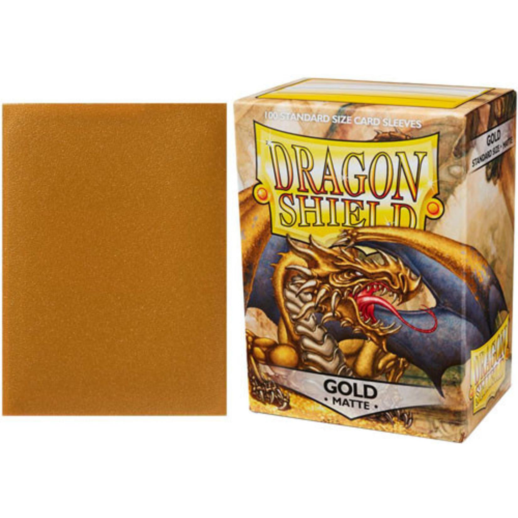 Dragon Shields Dragon Shields: (100) Matte Gold