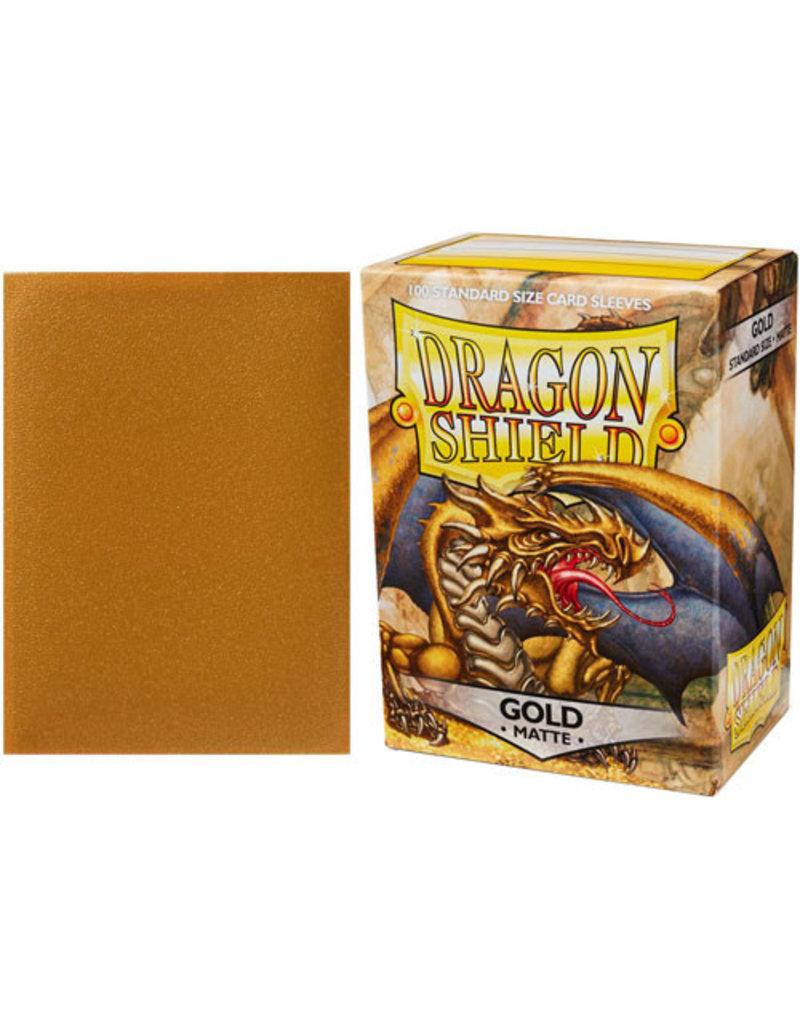 Dragon Shields: (100) Matte Gold