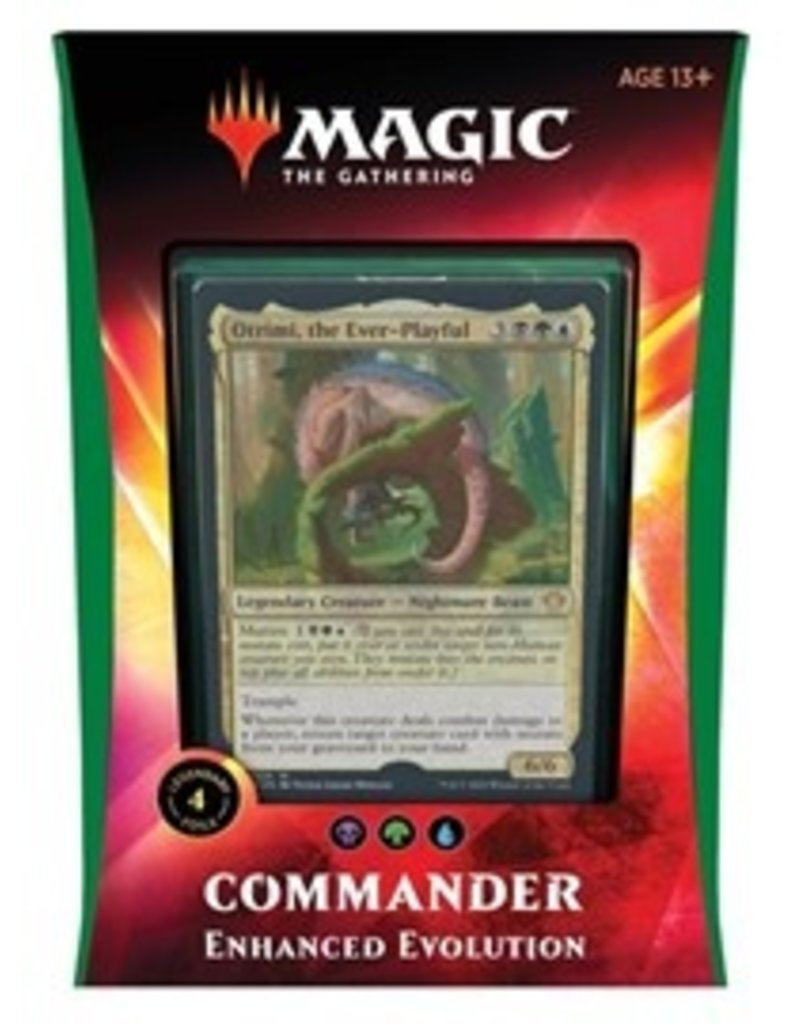 Wizards of the Coast Commander 2020 - Enhanced Evolution